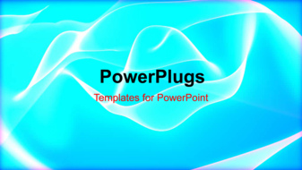 PowerPoint Template - An abstract energy concept